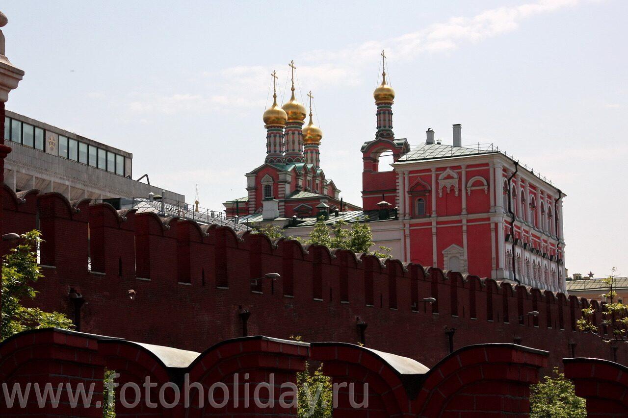 Кремль вид с троицкого моста кремль